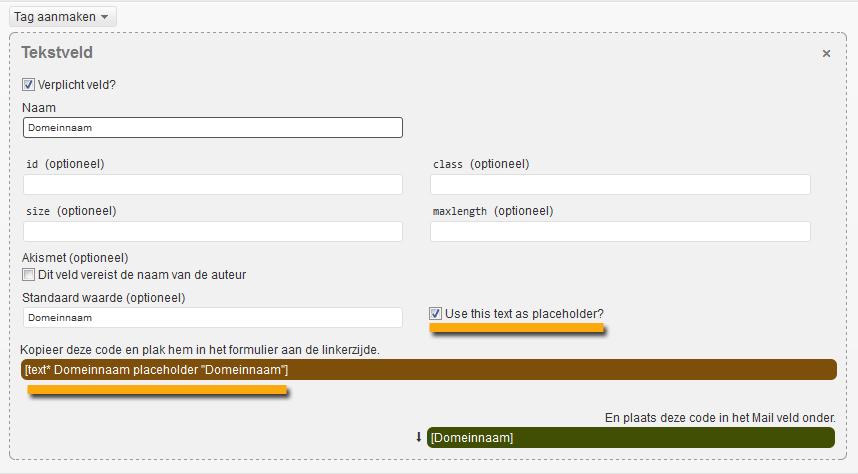 contactform7-labels-in-het-veld-wordpress